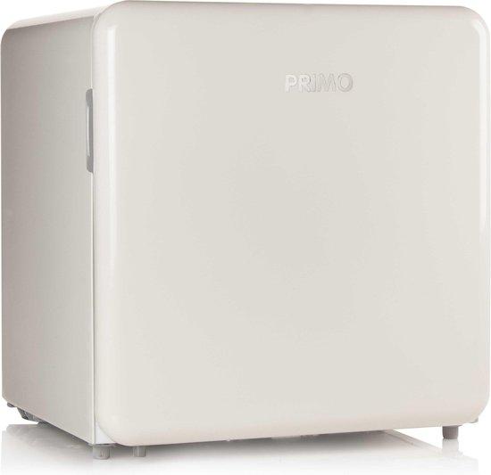 Koelkast: PRIMO PR110RKC - Mini-koelkast retro - Crème, van het merk PRIMO