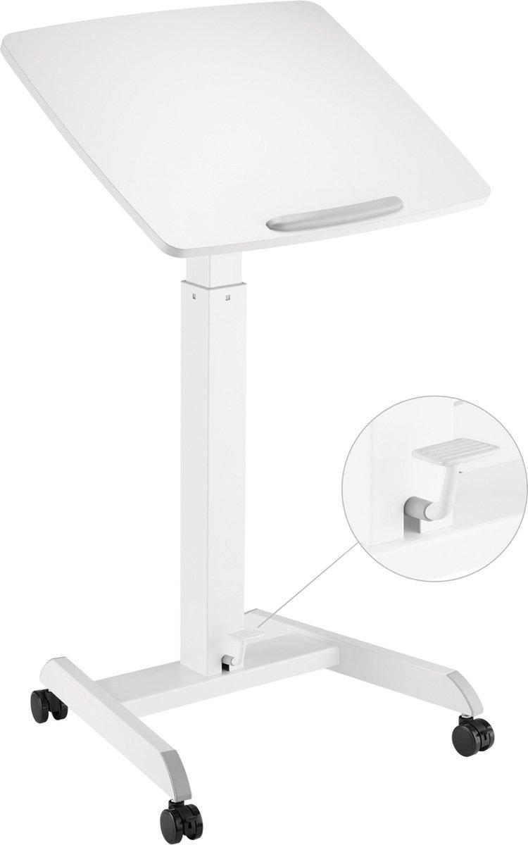 Bureau zit sta hoogte verstelbaar - bureau laptop tafel - lessenaar - verrijdbaar