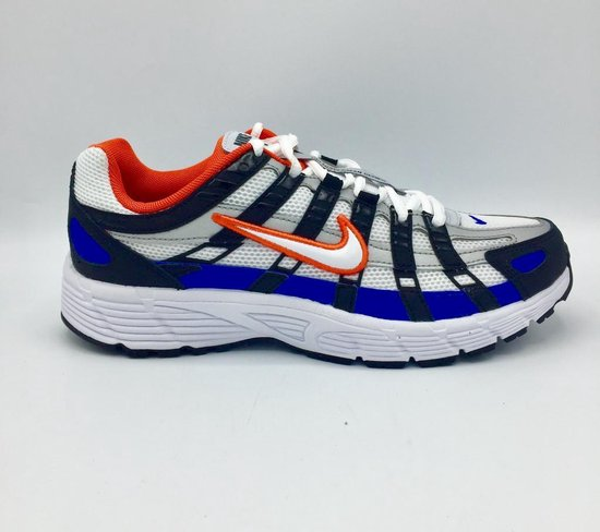 Nike P-6000 - Black/White/Team Orange - Maat 45