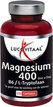 Bol.com-Lucovitaal Magnesium 400 Vitamine B6 en L-Tryptofaan Voedingssupplement - 120 capsules-aanbieding