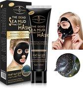Aichun Beauty The Dead Sea Mud Peel Off Mask - Tegen Mee-Eters en Verstopte Poriën - Acne - Natuurlijk Product - 120ML - Zwart