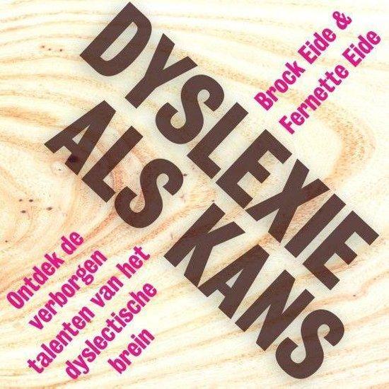 Boek cover Dyslexie als kans van Brock Eide (Onbekend)