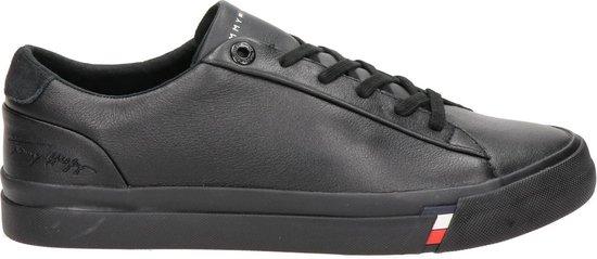 Tommy Hilfiger heren sneaker - Zwart - Maat 43