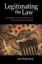 Omslag Legitimating the Law