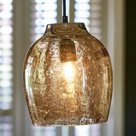 Riviera Maison - Rue De Temple Single Lamp -  Hanglamp - Glas