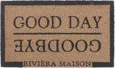 Riviera Maison Deurmat Good Day & Good Bye