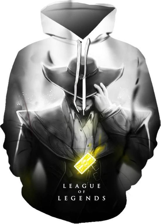 League of Legends Hoodie - Twisted Fate - Maat S