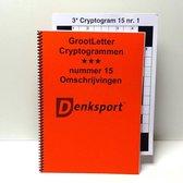 Denksport Groot letter Cryptogrammen 3 sterren