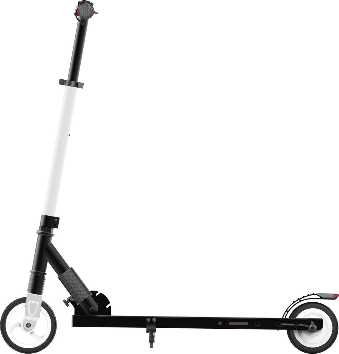Elektrische step S1 MegaWheels LIGHT E-scooter 23km/u - inklapbaar & in hoogte verstelbaar - Wit