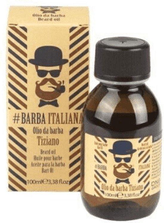 Barba italiana tiziano beard oli 100ml