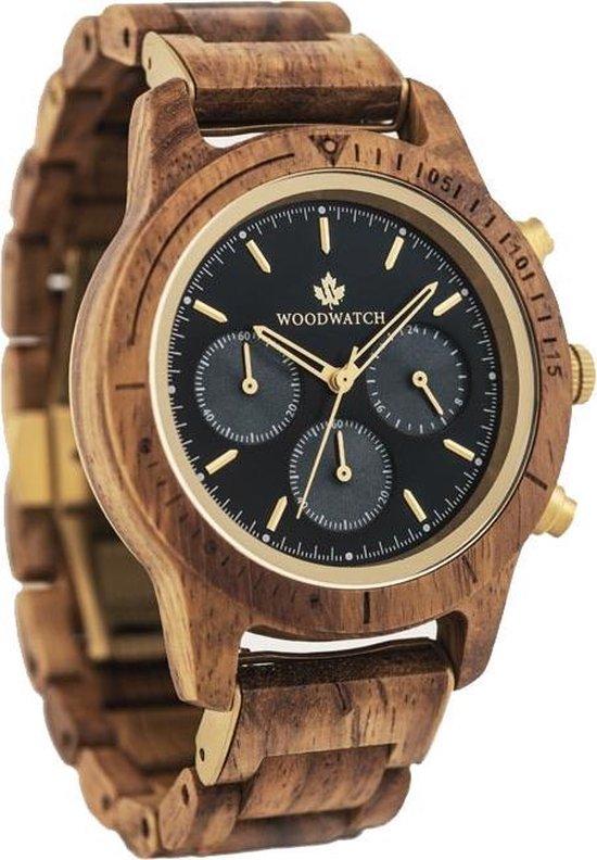 De officiële WoodWatch | Deep Dive | Houten horloge heren