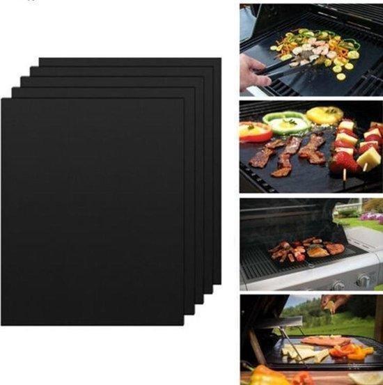 3 Stks Niet Stick BBQ Grill Mat Teflon Herbruikbaar