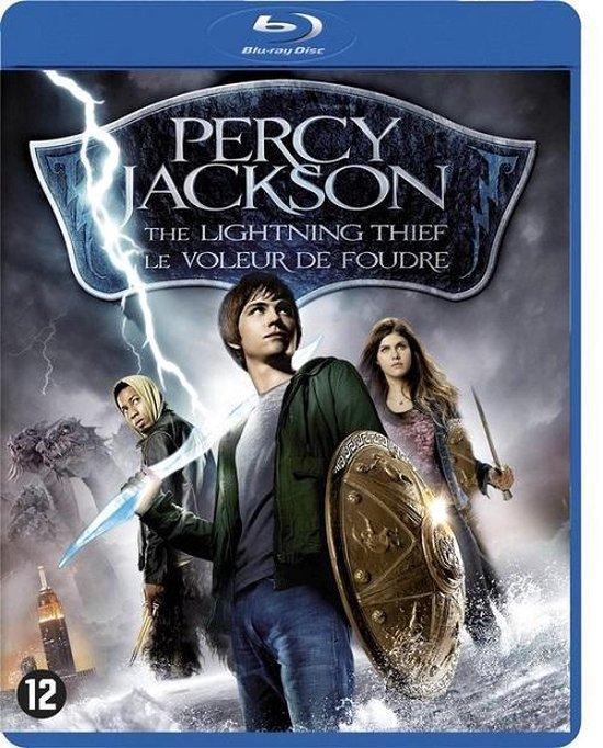 Cover van de film 'Percy Jackson & The Lightning Thief'