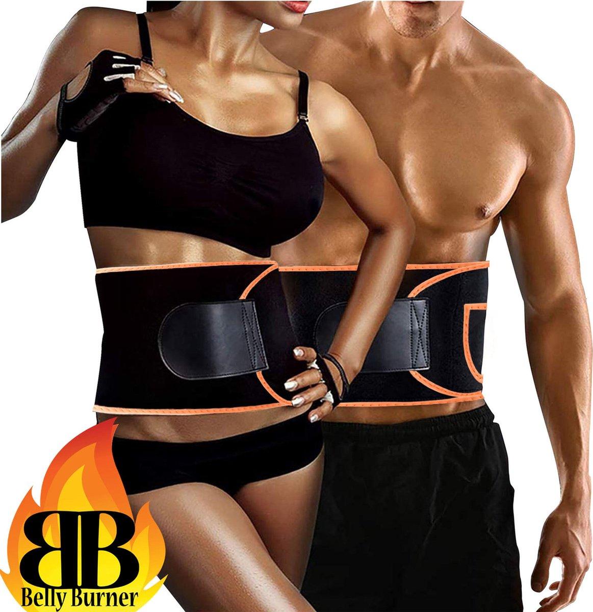 sauna band buik zweetband afslankband afslankgordel sweat belt