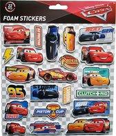 "Disney Foam Stickers ""Cars"" +/- 22 Stickers"