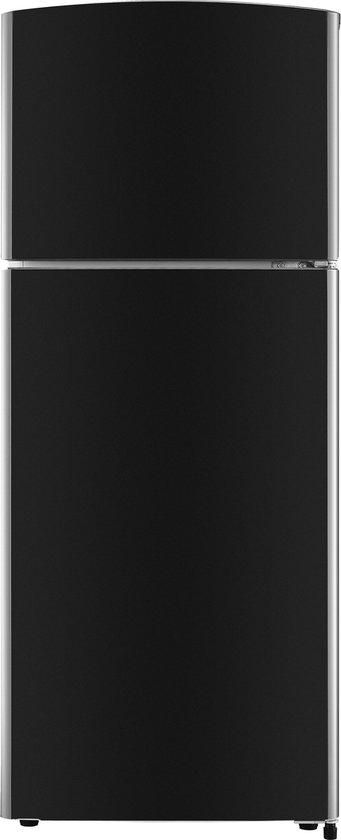 Koelkast met vriesvak: Everglades EVTD3002 - Compacte koel-vriescombinatie - Zwart, van het merk Everglades