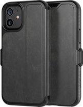 Evo Wallet book case voor iPhone 12 mini - Smokey Black