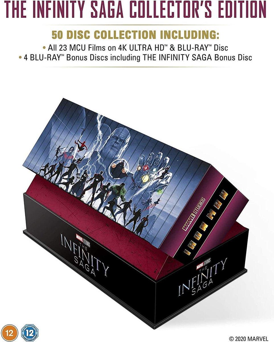 Marvel Studios: The Infinity Saga - Collector's Edition Complete Box Set UHD (Import)-