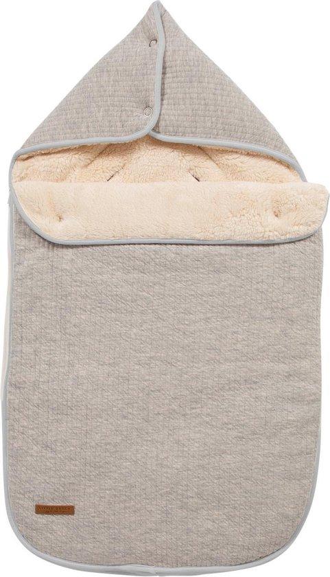 Product: Little Dutch Voetenzak - Voor autostoeltje - Groep 0+ - pure grey, van het merk Little Dutch
