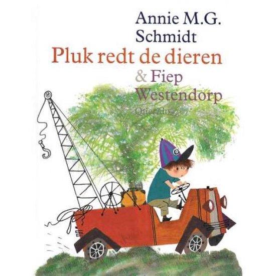 Boek cover Pluk redt de dieren van Annie M.G. Schmidt (Hardcover)