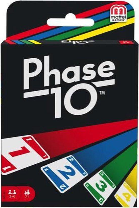 Phase 10 - Kaartspel - Mattel Games