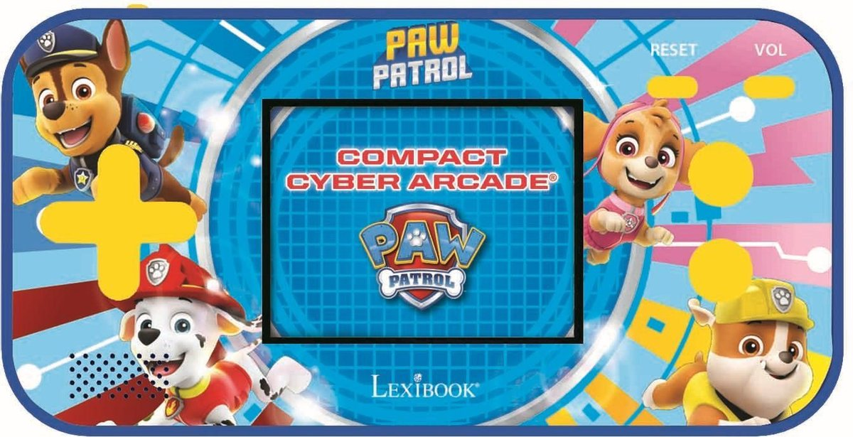 Lexibook Paw Patrol Compact Cyber Arcade videogameconsole - Disney speelgoed - 150 cyber games - spe