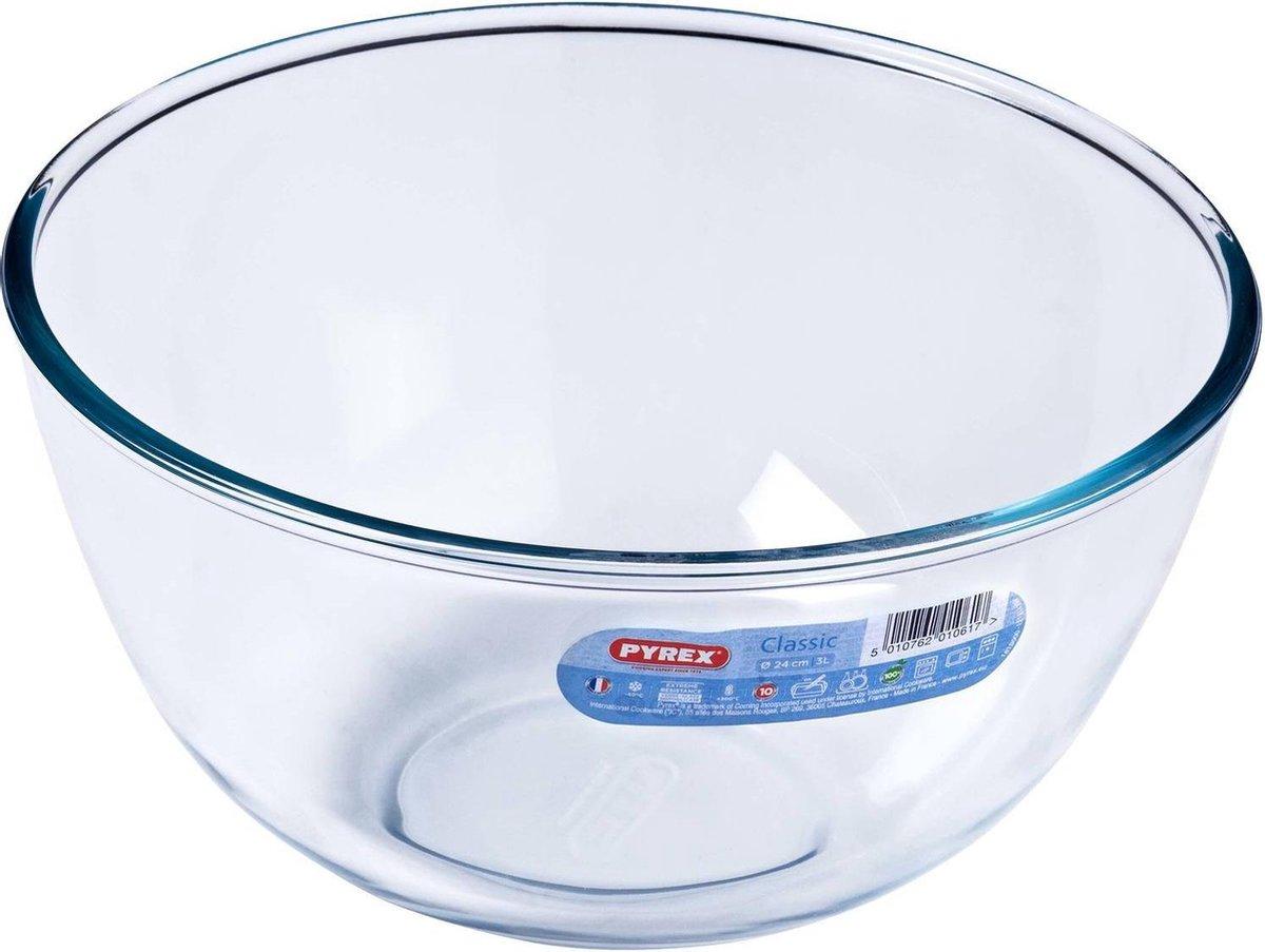 Pyrex Classic Prepware Mengkom - Borosilicaatglas - 3 liter - Transparant