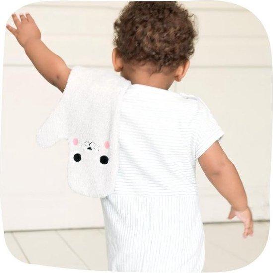 Baby Shower Zeehond Baby Washandje - Grijs