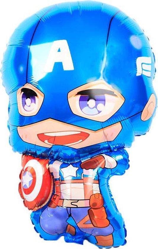 Captain America Ballon - Marvel Avengers - 74 x 47 cm - Civil War - Winter Soldier - First Avenger