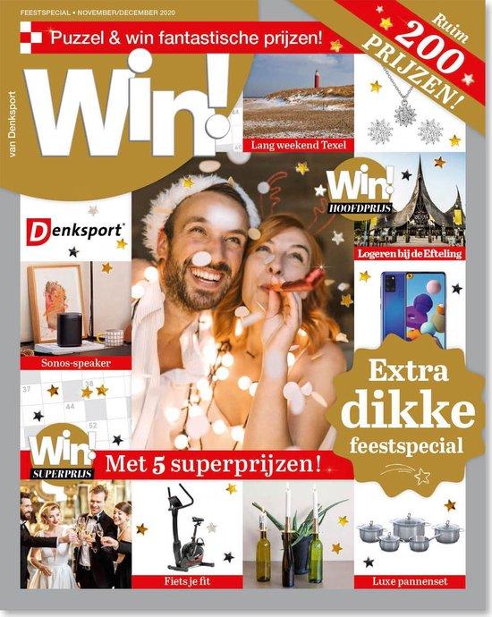 Afbeelding van Denksport puzzelboek WIN! Special editie 7