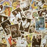Kaarten set Vintage style Famous - 32 ansichtkaarten