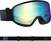 Salomon Four Seven Photo Sneeuwbril - Fit & Comfort -Maximaal Gezichtsveld -Black/AW Blue