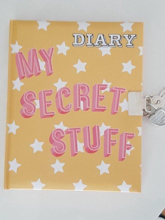 Afbeelding van Diary - My Secret Stuff - Mijn Geheime Dagboek met slotje 14x17.5 cm