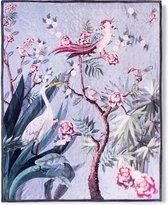 Heerlijk Zachte En Trendy Plaid Kraanvogel Grijs | 130x160 | Multifunctioneel (Decoratie, Woondeken Of Sprei) | Teddy Stof
