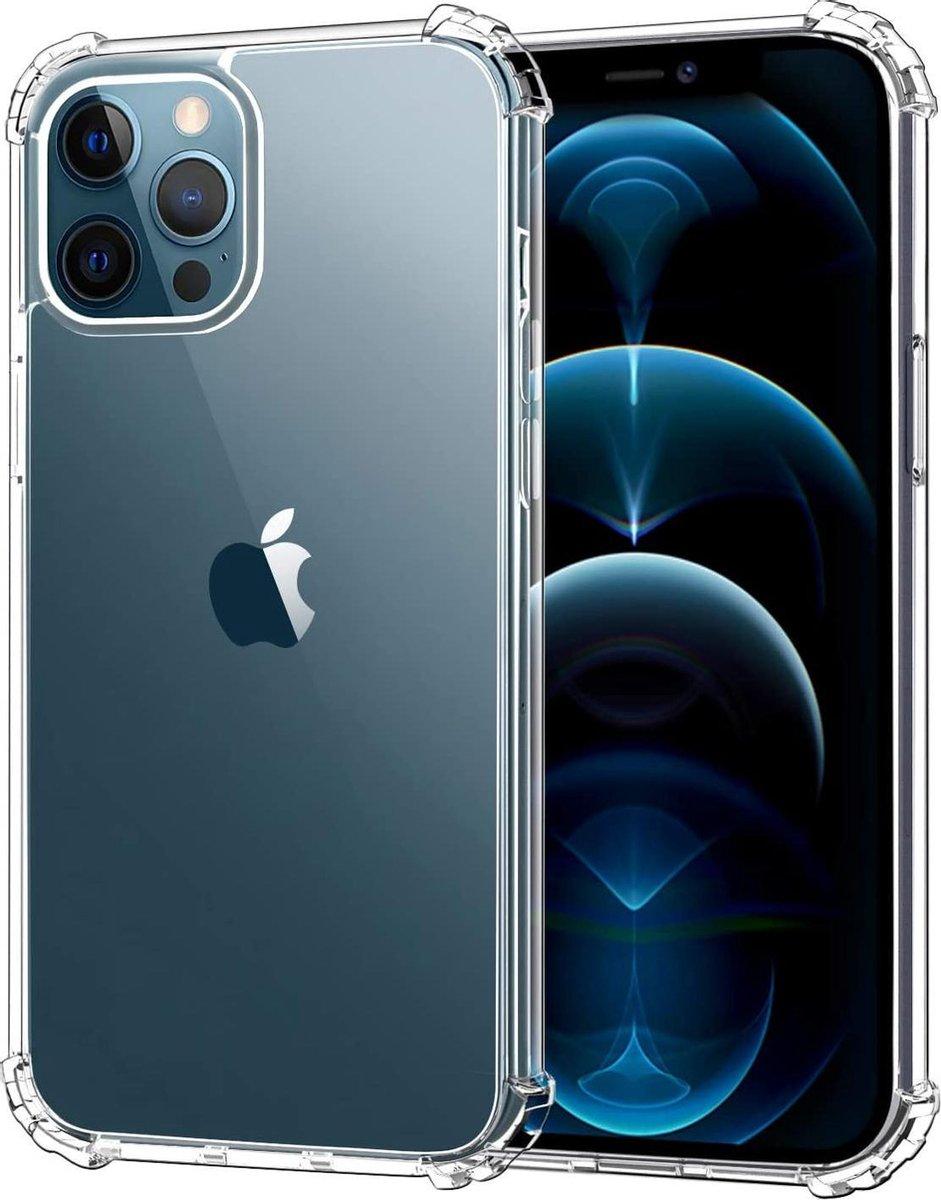Apple iPhone 12 Pro Max Hoesje - Anti-Shock Hybrid Ring