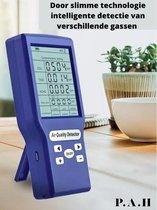 Co2 meter - Lucht Kwaliteit meter - Koolstofdioxide - HCHO - TVOC - AQI - CO2 detector -  Formaldehyde