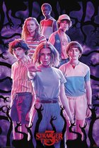 Stranger Things Netflix serie poster Eleven collage formaat 61 x91.5cm