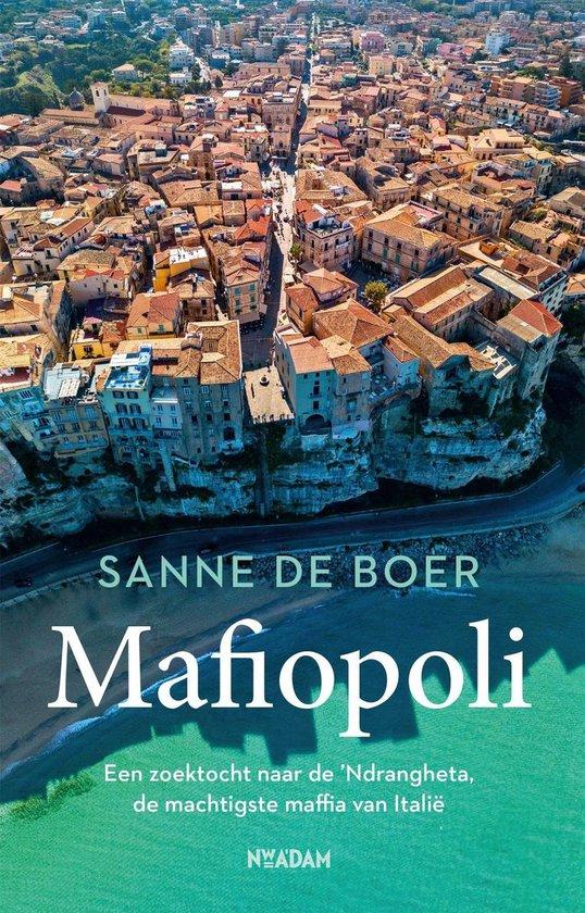 Boek cover Mafiopoli van Sanne de Boer (Onbekend)