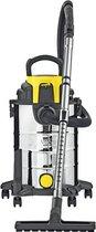 PARKSIDE® Premium Nat-/droogzuiger - Krachtige multifunctionele stofzuiger - Ook te gebruiken als Blazer - Extra stil - RVS Tank - 1400 W - 23 Liter - Nat en droog - Waterzuiger - Alleszuiger - Bouwstofzuigers