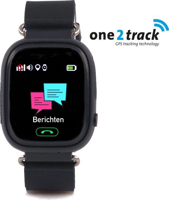 Connect Touch - GPS Smartwatch kind met telefoon - Werking in heel Europa - Zwart
