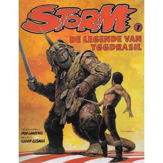 Boek cover Storm, De Legende van Yggdrasil nr. 7 van Kelvin Gosnell (Paperback)