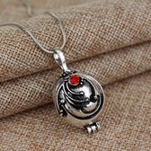 Vampire diaries ketting - Red stone - Vampire diaries - Vampire diaries sieraden – Elena Gilbert Necklace