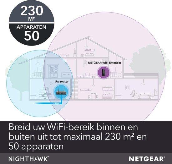 Netgear EX8000 - Wifi versterker - 3000 Mbps