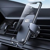 TravelR™ Auto Telefoonhouder - Extra sterk - Ventilatierooster - 360° Rotatie - Telefoonhouder - Auto - GSM Houder - Telefoonhouders Auto - Zwart