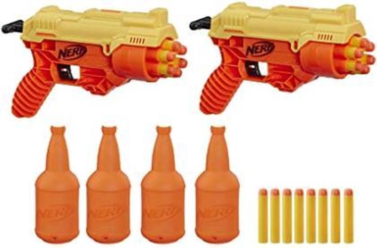 NERF Alpha Strike Cobra RC-6 blaster - 26 delige Dual Targeting Set - Hasbro - speelgoedpistool -
