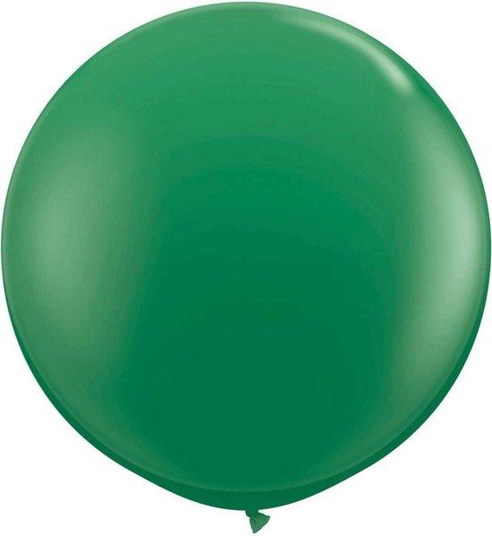 Groene Ballon 90cm 1 stuks
