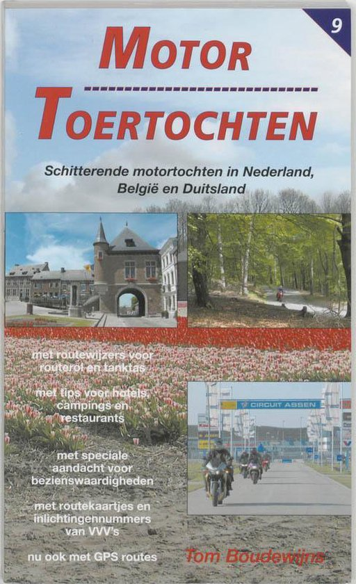 Cover van het boek 'Motor Toertochten / 9'