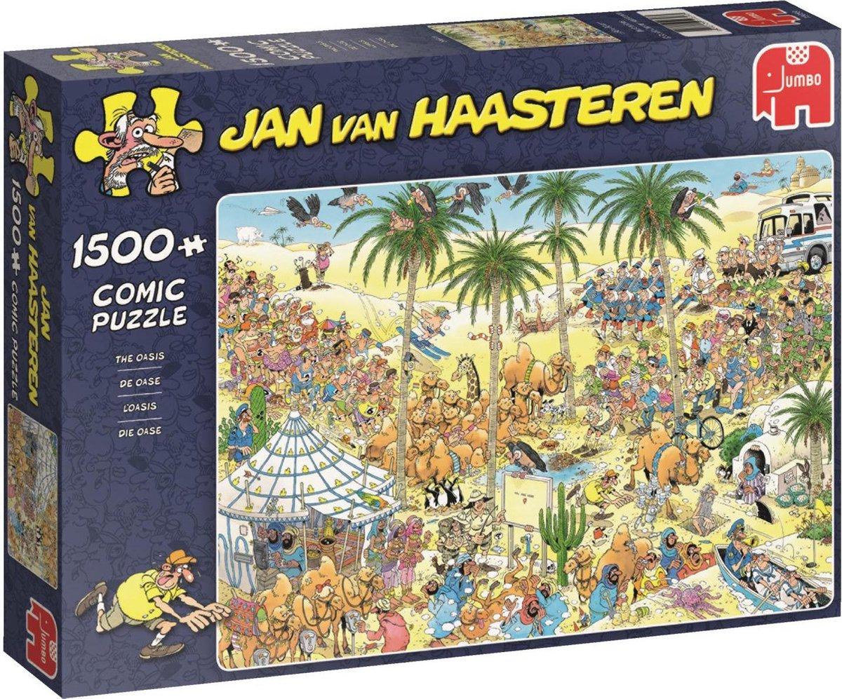 Jan van Haasteren De Oase puzzel - 1500 stukjes