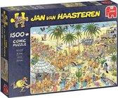 Afbeelding van Jan van Haasteren De Oase Puzzel 1500 stukjes