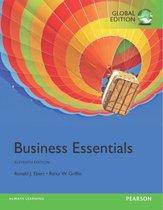 Boek cover Business Essentials, Global Edition van Ronald Ebert